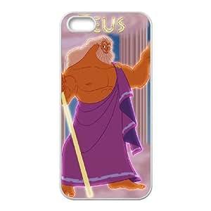 iPhone 5,5S Phone Case White Hercules Zeus DZW9566112