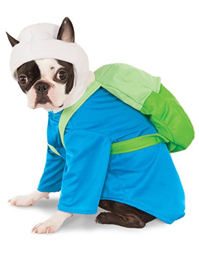 Rubie's Adventure Time's Finn Pet Costume, Extra-Large ()
