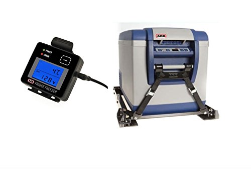 ARB 50 Qt Fridge Freezer & Slide & Remote Monitor & Tie Down Bundle - Complete - Fridge Slide Freezer