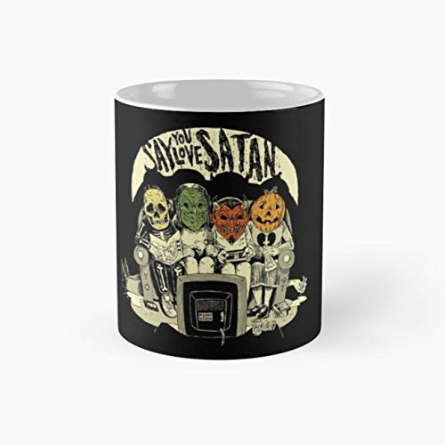 666 Halloween 110Z Coffee Mugs