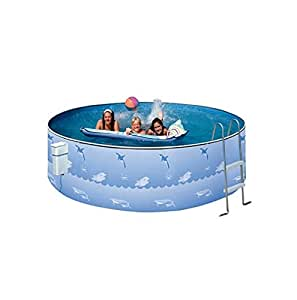 Heritage 12 39 x 36 fun 39 n sun club steel wall above ground swimming pool galvanized for Heritage above ground swimming pools