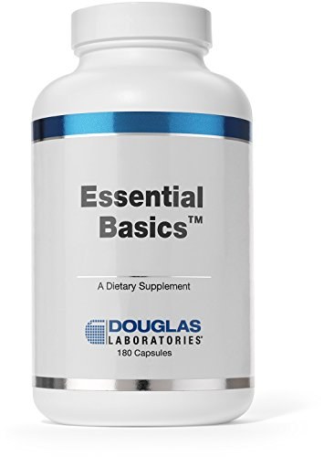 Douglas Laboratories® - Essential Basics - Comprehensive, Highly Concentrated Vitamin / Mineral / Trace Element Supplement - 180 Capsules