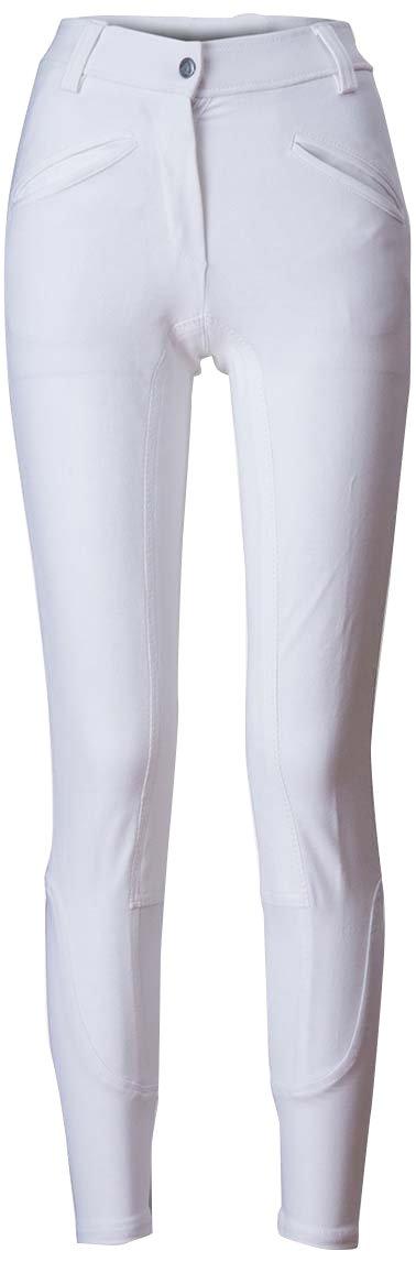 2016SS ライディングキュロット 尻革 レディースジュニア B01M74U33H 150cm|ホワイト/ホワイト ホワイト/ホワイト 150cm