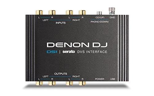Denon DJ DS1 | Pocket-Sized Digital Vinyl Audio Interface with full Serato DJ Pro & Serato DVS download (2-channel/24-bit/96kHz)
