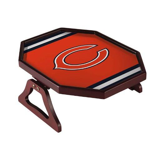 Team Sports America NFL Chicago Bears Armchair Quarterback Tray, Small, Multicolored