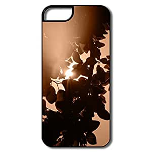 PTCY IPhone 5/5s Designed Fashion Sunlight Through Leaves