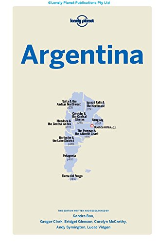 Lonely Planet Argentina (Travel Guide) - 412 htavPrL