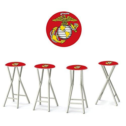 UPC 818482016057, Best of Times Padded Bar Stools (Set of 4), US Marines