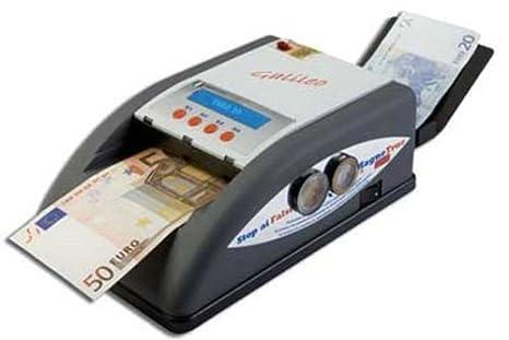 GALILEO - Detector Cuenta monitores detectores Billetes en Euros de Dinero Pantalla de Dinero GALILEO: Amazon.es: Electrónica