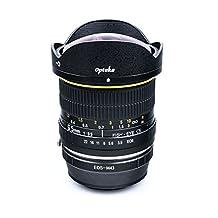 Opteka 6.5mm f/3.5 HD Aspherical Fisheye Lens for Panasonic Lumix Micro Four Thirds DMC GM5, GH4, GM1, GX7, GF6, G6, GH3 G1, GH1, GF1, G10, G2 GH2 and GF2 Mirrorless Digital Cameras