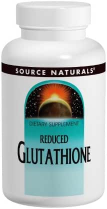 Source Naturals Glutathione 250 mg Reduced Supplement For Liver Support - 60 Tablets