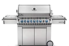 """The new Prestige Pro series pro665rsib-2 gas grill comes with 8 burners in Total, & can grillup to 42 hamburgers at once. That's not those wimpy, freezer burned, store bought ones, but large & juicy, hand made, 4"""" Patties. But you're ..."""