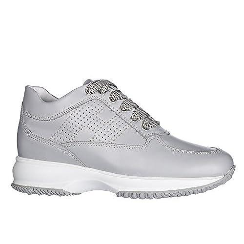 bf9caf27af5 70% OFF Hogan Zapatos Zapatillas de Deporte Mujer EN Piel Nuevo Interactive  Gris