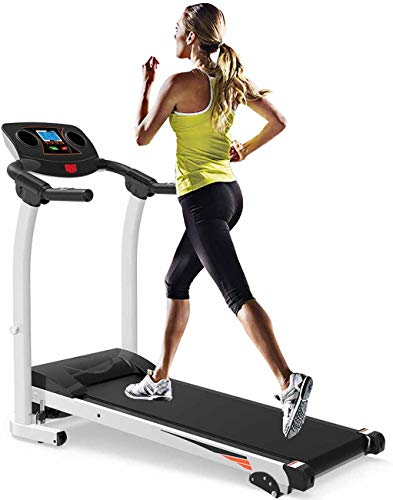 jixuetao Folding Treadmill for Home Motorised Electric Running Walking Machine Fitness Equipment Adjustable Incline
