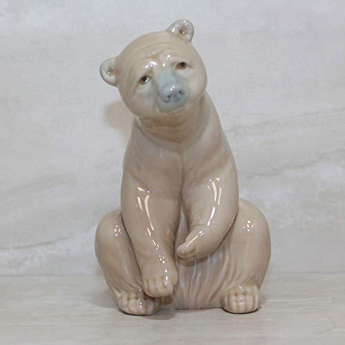 Lladro Vintage Collectible Figurine: Good Bear (No.1205)