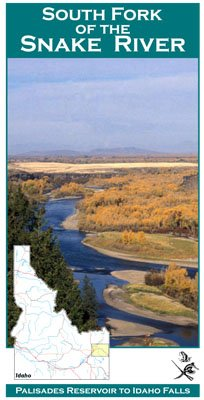 South Fork of the Snake River 11x17 Fly Fishing Map