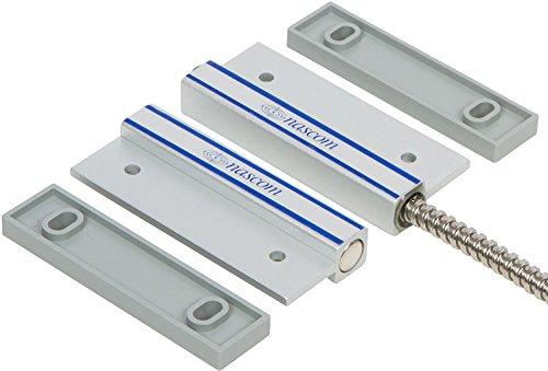 Nascom N505AU/ST Man Door Surface Mount Aluminum Steel Door Switch Featuring No Dead Spot Technology