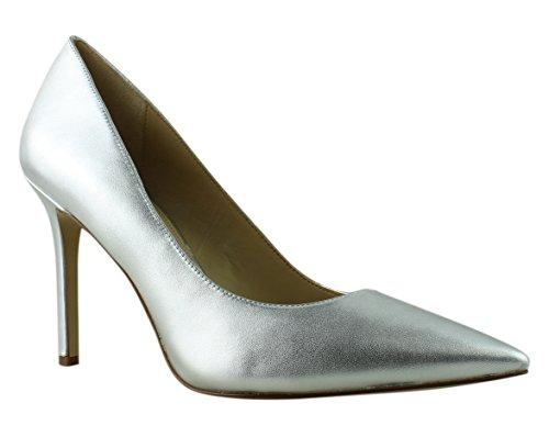 (Sam Edelman Women's Hazel Soft Silver Metallic Sheep Leather Shoe)