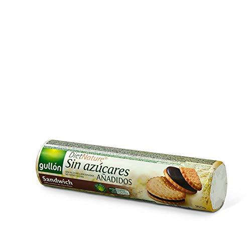 Biscoito com Recheio de Chocolate sem Adição de Açúcar Gullón Pacote 250g