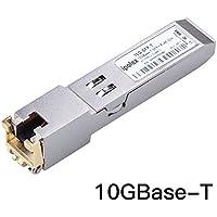 ipolex 10GBase-T SFP+ RJ45 Copper Transceiver Module for Cisco SFP-10G-T-S, Ubiquiti, D-Link, Supermicro, Netgear, Mikrotik (Cat6a/7, 30-Meter)