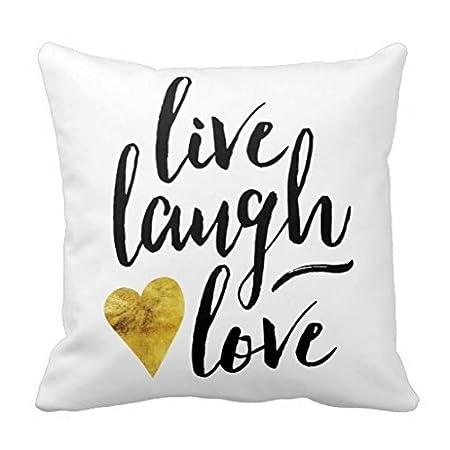 Live Laugh Love R7b5b418449644c26ae39ab5bbcf2490b I5fqz 8byvr Pillow Case