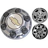16 Inch OEM Chevy 6 Lug Chromed Center Cap Hubcap Wheel Cover, 1999-2011 # 9598133 9598135 9598137 by Chevrolet