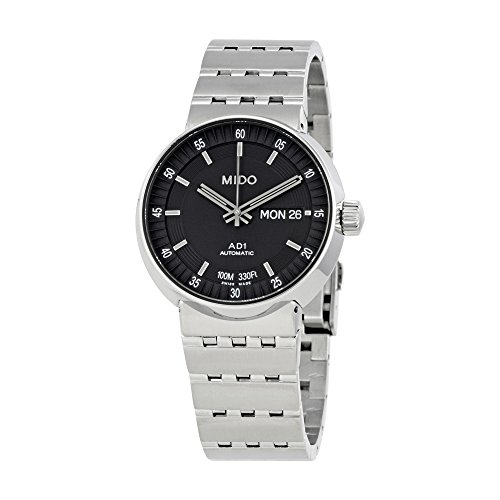 Mido All Dial Automatic Black Dial Mens Watch M8330.4.18.13.80