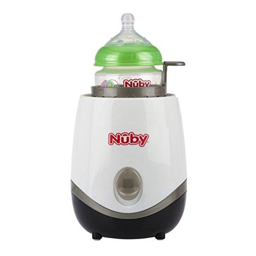 Electric Bottle Warmer ~ Nuby one touch in electric baby bottle warmer