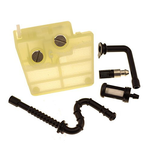 HIPA Air Filter with Spark Plug Oil Fuel Line Filter for STIHL 024 MS240 MS260 Chainsaw