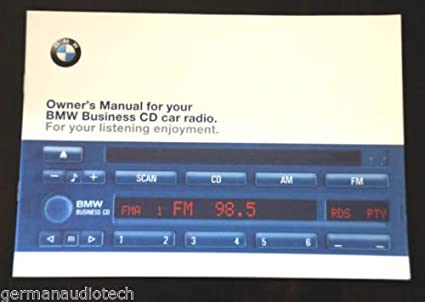 amazon com bmw business cd player radio stereo blaupunkt cd43 new rh amazon com BMW Used Cars BMW Sports Car