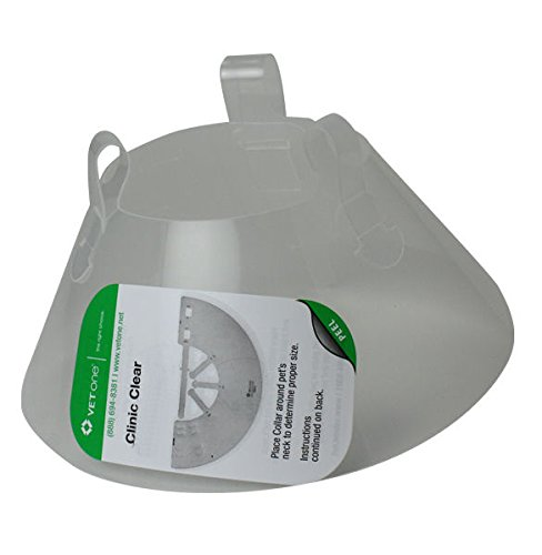 VetOne Clinic Clear Recovery Collar 25cm