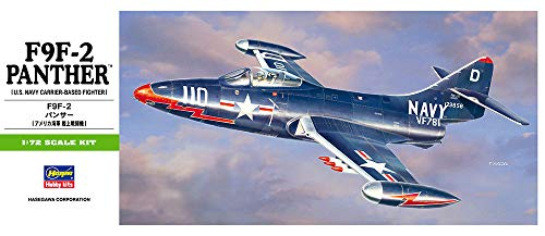 Hasegawa Corp. 00242 1/72 F9F-2 Panther, used for sale  Delivered anywhere in USA