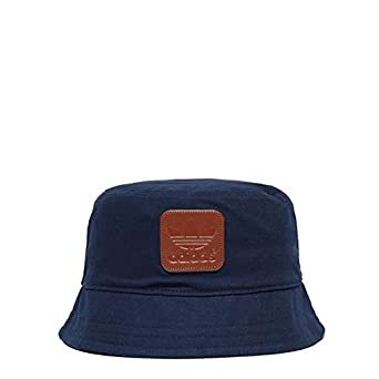 93fff4ffafc adidas Originals Men s Trefoil Bucket Hat Cap In Navy Organic Cotton Small  Size  Amazon.co.uk  Clothing
