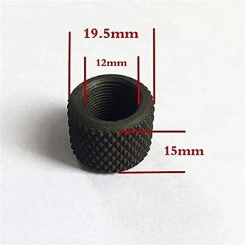 NO LOGO L-Yune, 1pc Acero 0,750 Diámetro 223 308 Compensador Barril de Rosca Protector 1 / 2x28 5 / 8x24 Pitch (Color : .223)