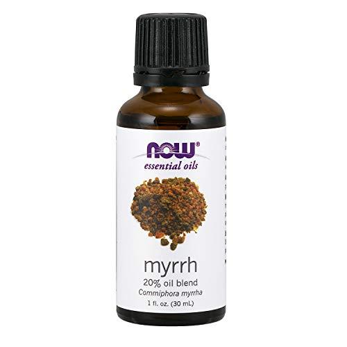 Now Essential Oils, Myrrh Oil Blend, Meditative Aromatherapy Scent, Steam Distilled, 100% Pure, Vegan, - Essential Blend Myrrh