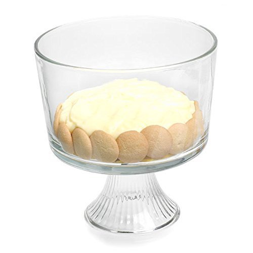 Anchor Hocking Monaco Trifle Bowl for Cake & Fruits