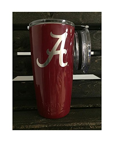 Kodiak Coolers Alabama NCAA Engraved Vacuum Insulated Tum...