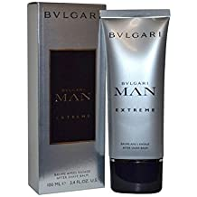 Bvlgari Man Extreme After Shave Balm for Men, 3.4 Ounce