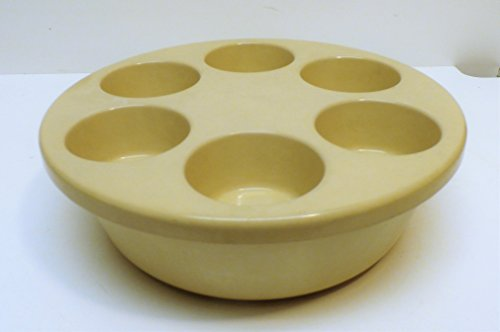 Vtg Set 2 Anchor Hocking  inchMicroware inch Microwave & Oven Bundt Cake & Muffin Pan Baking Dish