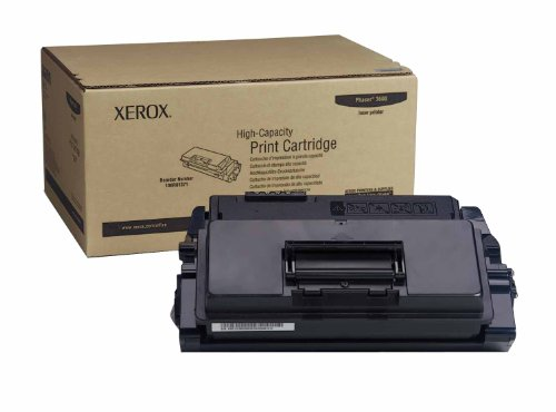 - Genuine Xerox High Capacity Black Print Cartridge for the Phaser 3600, 106R01371