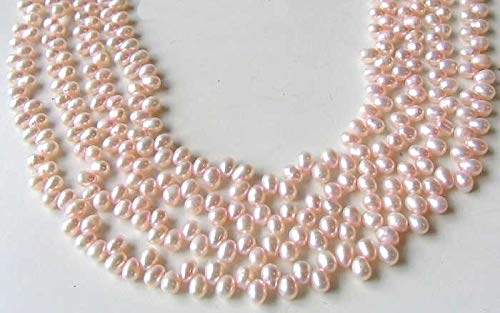 Dancing Cotton Candy Pink FW Pearl Strand for Jewelry Making 108836 (Necklace Fw Pearl Pendant)