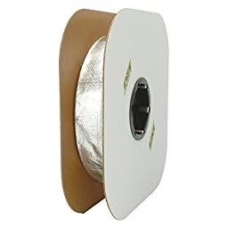 Design Engineering DEI 010419 Heat Sheath - Aluminized Sleeving for Ultimate Heat Protection, 1\