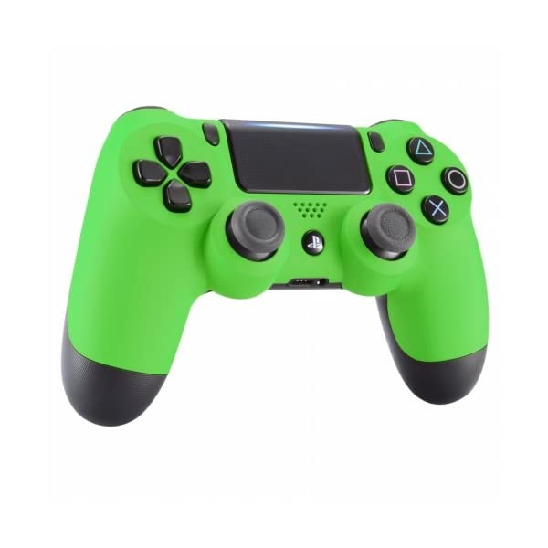 PS4 Dualshock Playstation 4 Wireless Controller Custom Soft Touch New Model (Green) 2