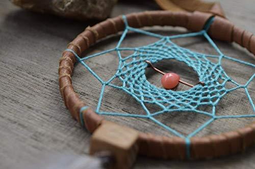Native American Car Mirror Feathers Dream Catcher Amulet