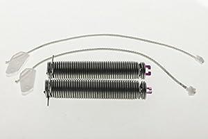 daniplus© Reparatursatz Türscharnier, Feder, Seilzug passend für Bosch...