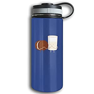 Chocolates And Milk Cute Reusing Cycling Vacuum Cup Drinking Water Bottle