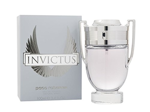 Paco Rabanne Invictus Eau de Toilette Spray for Men, 3.4 Ounce