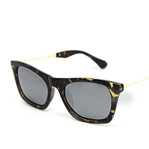 Women Polarized Sunglasses Elegant Sun Protective Sunglasses 5952,gray,C2-Leopard