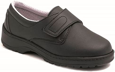 CALZAMEDI Zapato ORTOPEDICO Sanitario Unisex Negro - 39: Amazon.es ...