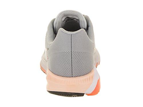 Grey dark Platinum W Donna Nike pure Wolf Grey 21 Zoom Scarpe Running Air Structure 4SZqf